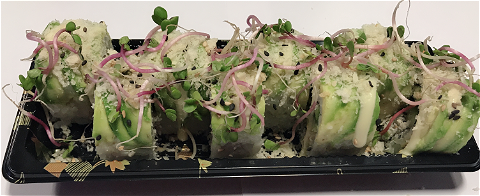 Foto Crispy avocado roll