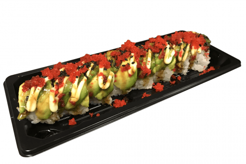 Foto Avocado dragon roll