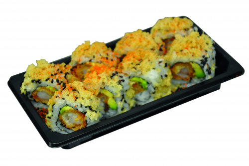 Foto Spicy crispy fried ebi roll