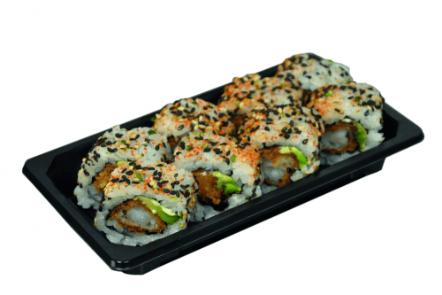 Foto Spicy fried ebi roll